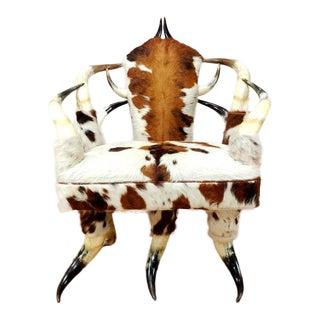Mid-Century Wenzel Friedrich Texas Horn Chair