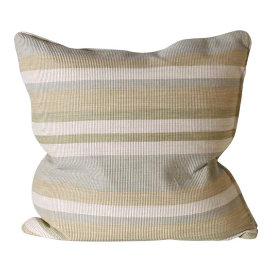 Pair of Kravet Middle Kingdom Ottoman Cloth Pillows For Sale