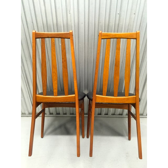 Svegards Marka Teak Dining Chairs - Set of 4 - Image 10 of 11