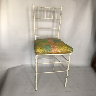 Vintage Faux Bamboo Metal Chiavari Chair Preview