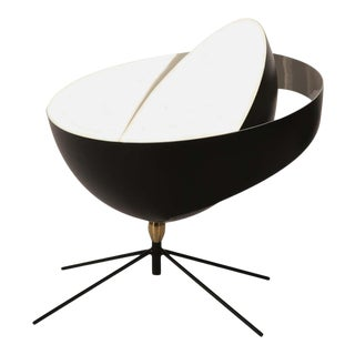 """Serge Mouille """"Saturn"""" Table Lamp in Black For Sale"""