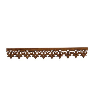 Carved Teak Moulding Trim For Sale