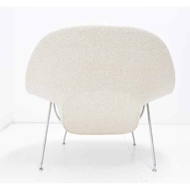 2000 - 2009 Eero Saarinen for Knoll Womb Chair and Ottoman For Sale - Image 5 of 9