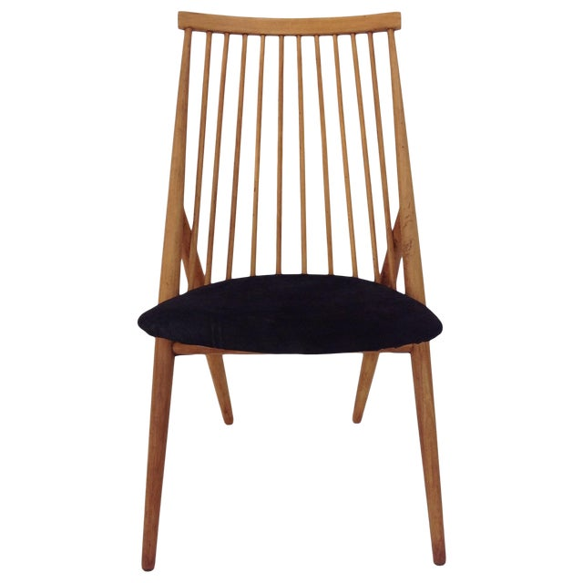 Nässjö Stolfabrik Flamingo Chair by Thea Leonard For Sale