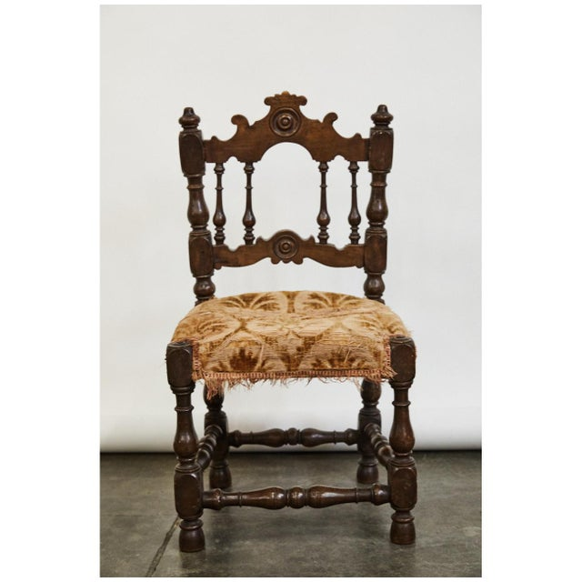 French 18th Century Child's Chair For Sale - Image 4 of 7