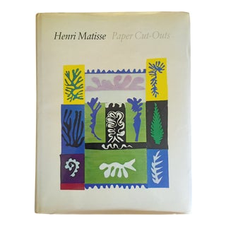 """ Henri Matisse Paper Cut - Outs "" Rare 1st Edtn 1977 Collector's Hardcover Exhibition Art Book For Sale"