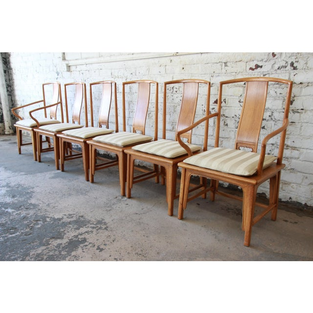 Baker Furniture Chinoiserie Ming Dining Chairs - Set of 6 For Sale - Image 13 of 15
