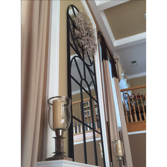 Bobo Intriguing Objects Iron Cathedral Mirror For Sale - Image 11 of 11