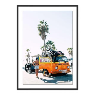 Beach Bum IV by Erica Singleton, Contemporary Photograph in Black, Large For Sale