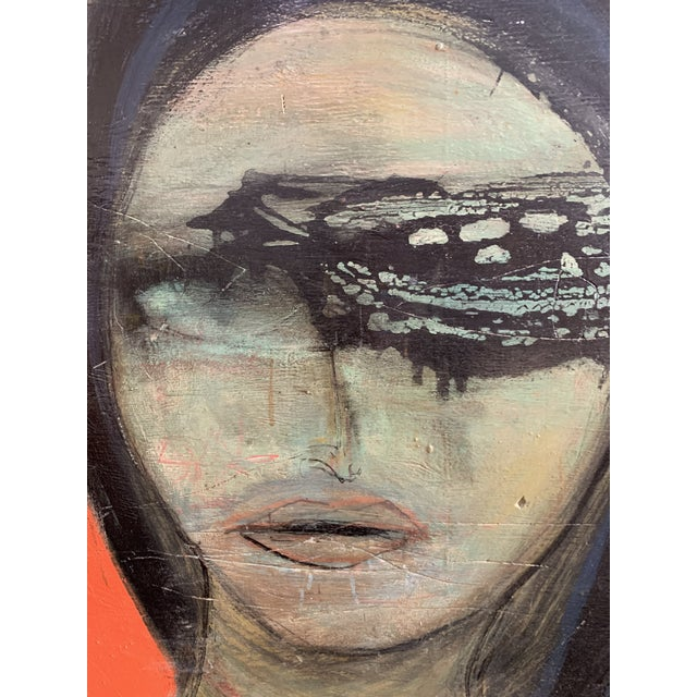 Large James Swinson Acrylic on Plywood & Plaster Painting For Sale - Image 4 of 11