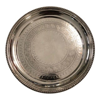 1920s Sterling Silver Plate English For Sale