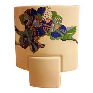 1980s Vintage Michael Boehm for Rosenthal German Vase For Sale