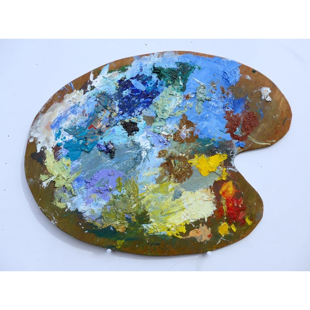 French Artist Oil Palette - Image 5 of 5