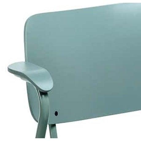 Mid-Century Modern Lukki Chair in Sage Green by Ilmari Tapiovaara & Artek For Sale - Image 3 of 4