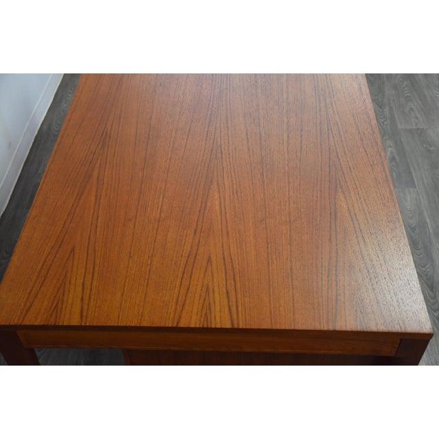 "Teak Executive ""Diplomat"" Desk by Finn Juhl For Sale In Boston - Image 6 of 13"