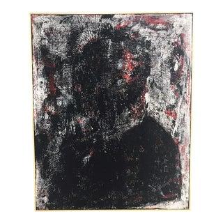 "John O'Hara. Smoking Jacket. Encaustic on Board. 49x61"" For Sale"