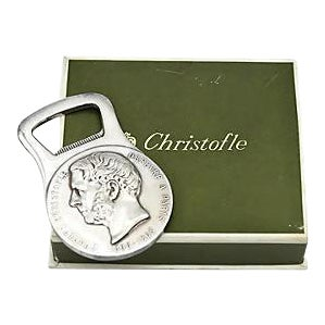 Christofle Silver-Plate Bottle Opener - Image 1 of 5