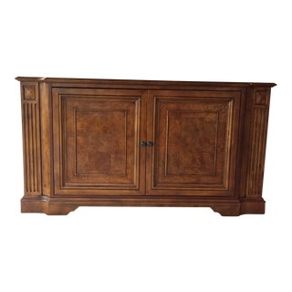 Traditional Ethan Allen Henley Entertainment Console For Sale