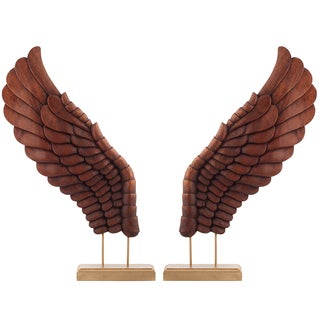 Wooden Décor Wings II