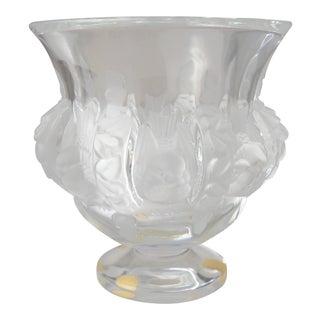 Lalique Dampierre Vase For Sale