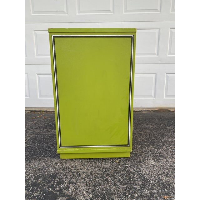 Drexel Mid 20th Century Drexel Peter Max Inspired Small Dresser For Sale - Image 4 of 12