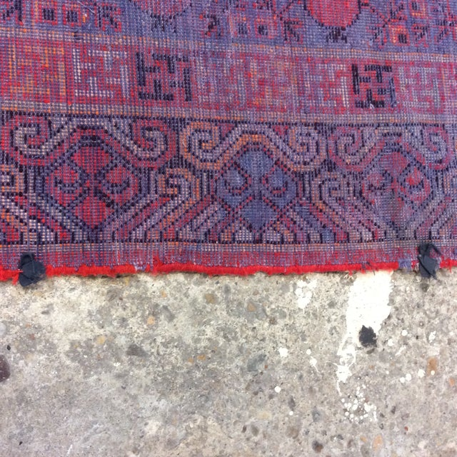 "Antique Chinese Khotan - 5'6""x 10'3"" For Sale - Image 11 of 13"