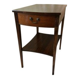 Mersman Mid-Century Modern Walnut Side Table For Sale