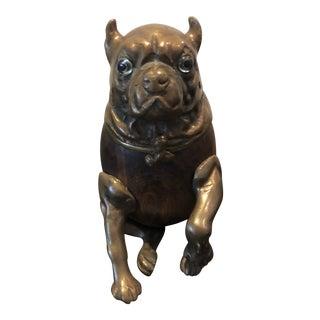 Arthur Court Pug Dog Cigar Holder For Sale
