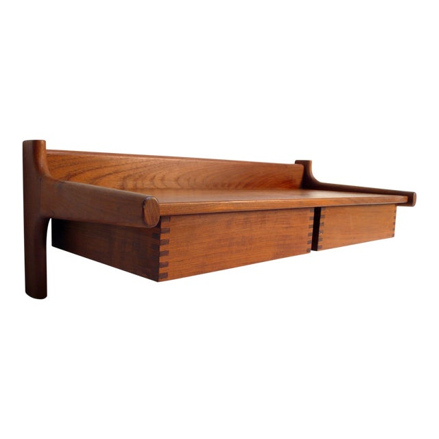 Wall Mount Nightstands by Peter Hvidt For Sale