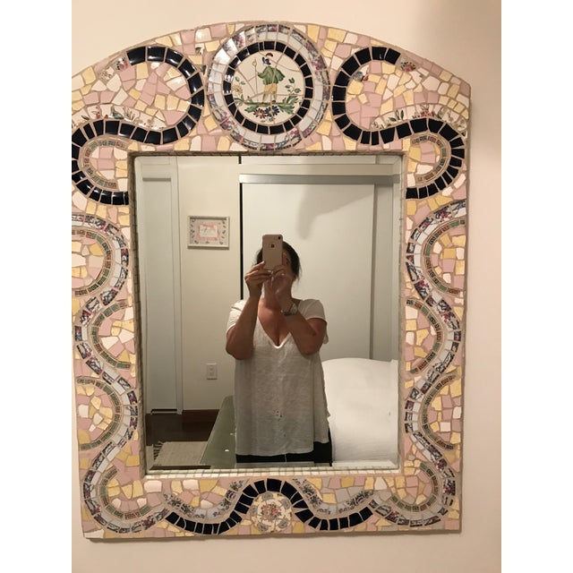 Custom Made Mosaic Mirror - Image 6 of 6