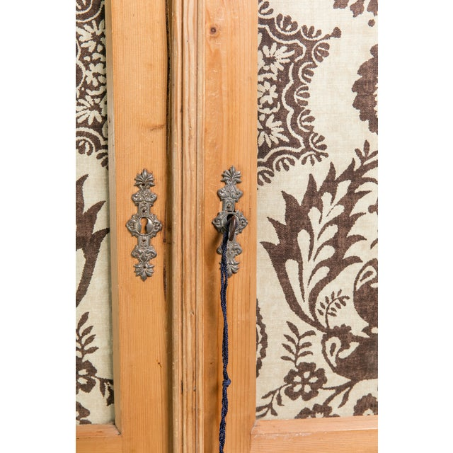 19th Century English Pine Armoire - Image 10 of 11