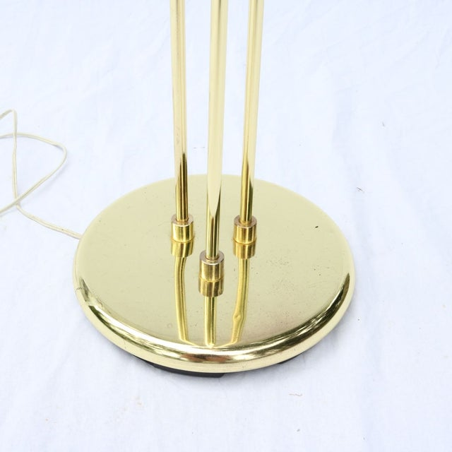 Vintage Italian Gold Three-Prong Torchiere - Image 4 of 10