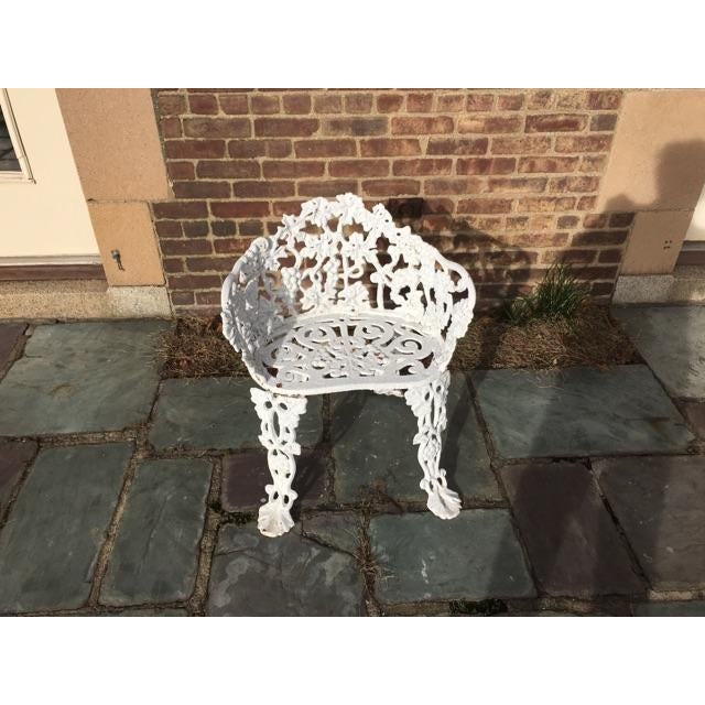 Antique Cast Iron Garden Bench - Image 5 of 11
