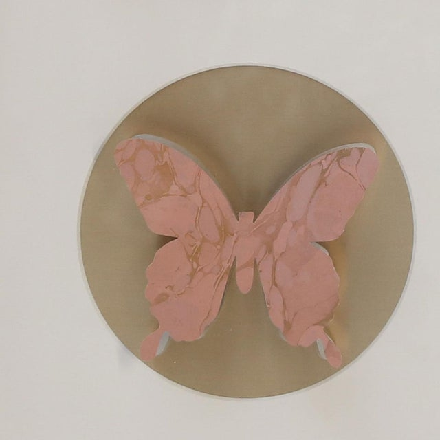 Erwine & Estelle Laverne Hand-Cut Paper Butterfly Box For Sale - Image 4 of 6