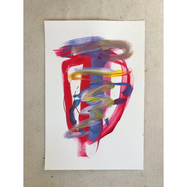 "Jessalin Beutler ""No. 139"" Original Painting - Image 2 of 5"
