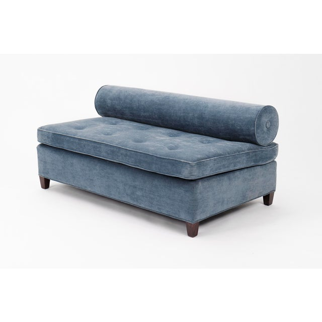 Pair of Bolster-Back Sofas For Sale - Image 4 of 11