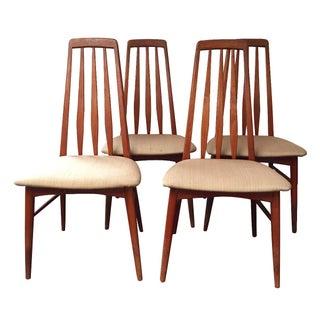 Vintage Mid-Century Danish Teak Chairs - S/4