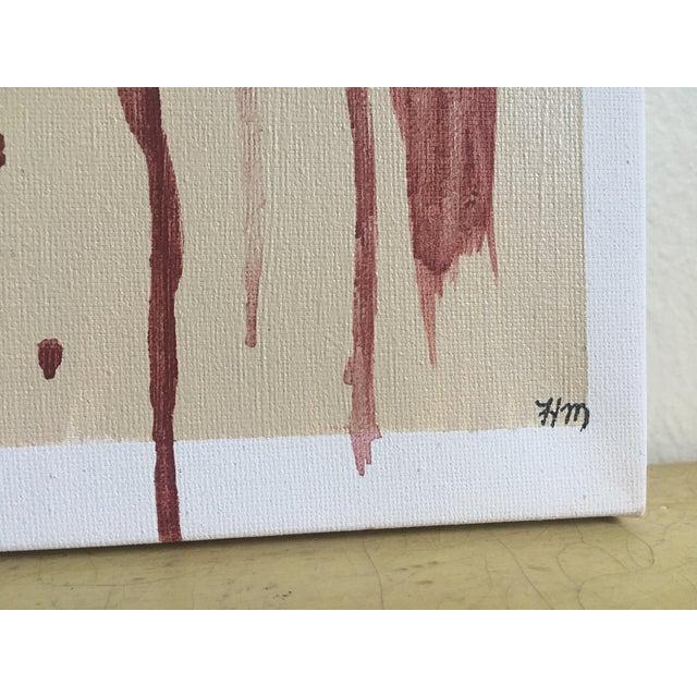 "Modern Abstract Bohemia, Original Art - Pair ""Hiraeth"" - Image 7 of 8"