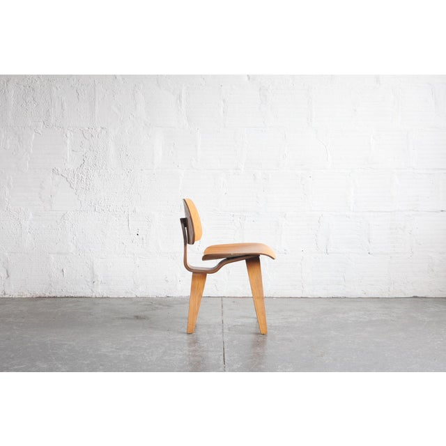 1950s 1950s Vintage Early Eames for Herman Miller Dcw Chair For Sale - Image 5 of 6