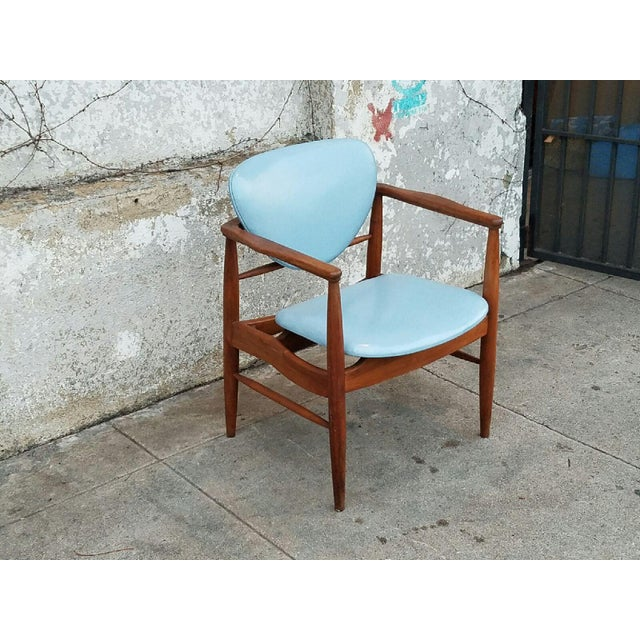 Mount Airy Finn Juhl-Style Vintage Chairs - A Pair - Image 5 of 7