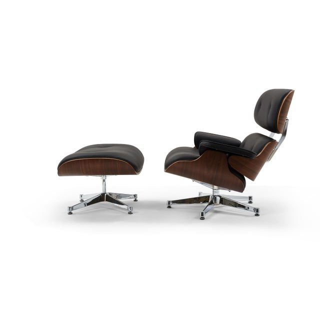 The Mid Century Lounge Chair & Ottoman is a timeless classic. The Lounge Chair & Ottoman is constructed to last lifetimes....