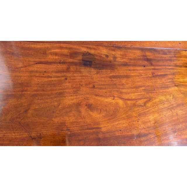Wood English Chippendale Reticulated Ball and Claw Foot Drop-Leaf Table For Sale - Image 7 of 11