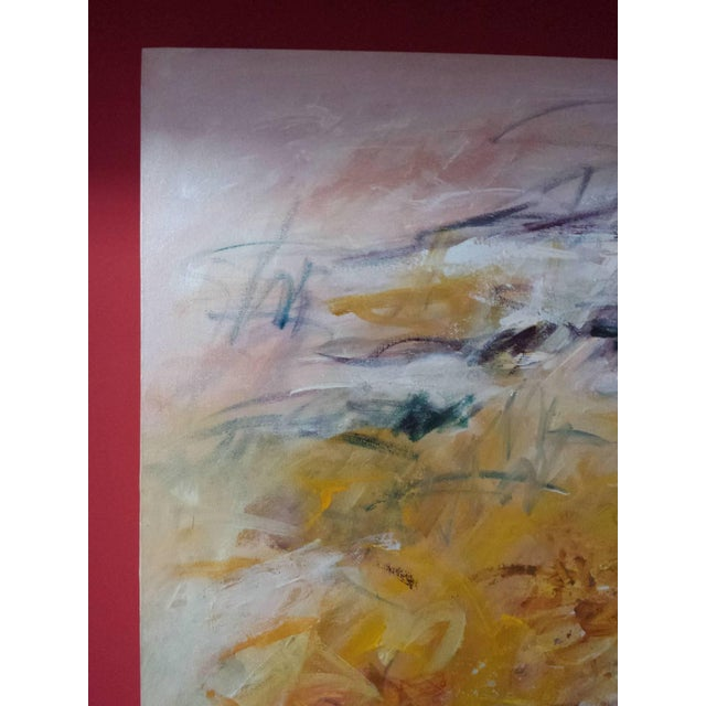 """2000 - 2009 Acrylic Painting on Canvas Titled: """"Summer Glow"""" For Sale - Image 5 of 10"""