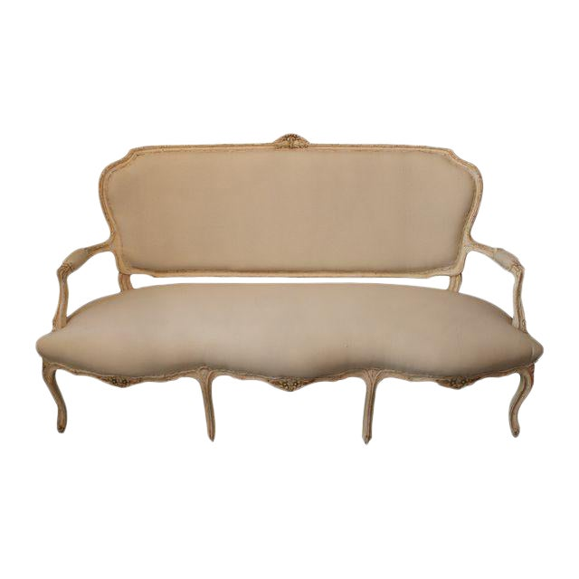 Louis XV French Settee For Sale