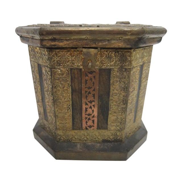 Vintage Boho Indian Wood Box - Image 1 of 7