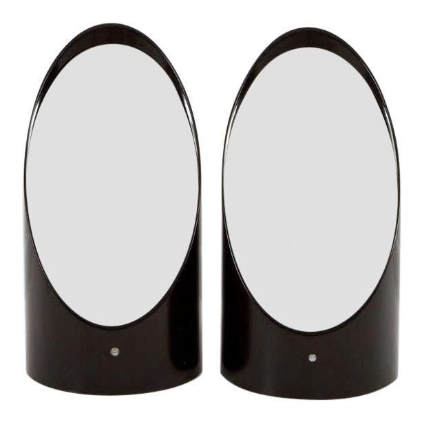 Pair of Vanity Mirrors by Roger Lecal for Chabrieres & Co. For Sale