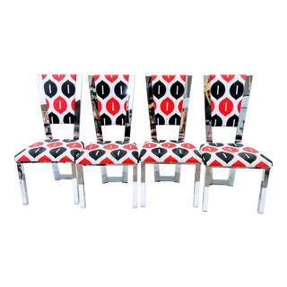 Jokers Chairs - Set of 4 For Sale