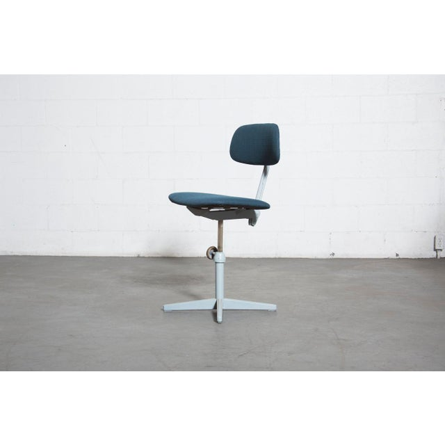 Friso Kramer Newly Upholstered Drafting Chair - Image 2 of 11