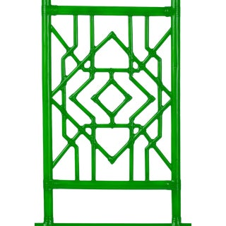 Tulum Headboard Queen - Bright Green For Sale
