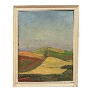 Mid-Century Abstract Fields by Anders Gudmundsen-Holmgreen For Sale